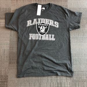 NFL Team Apparel Oakland Raiders Football T-Shirt